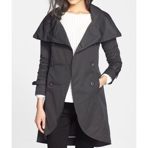 Mackage Montreal Malka Trench Coat Double Breasted